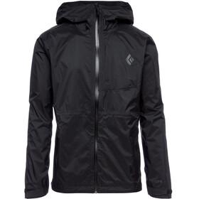 Black Diamond TreeLine Rain Shell Jacket Men, black
